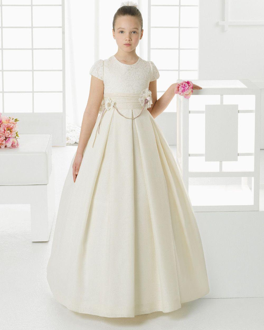 Find more flower girl dresses information about 2017 elegant satin find more flower girl dresses information about 2017 elegant satin ball gwon flower girl dresses cute izmirmasajfo