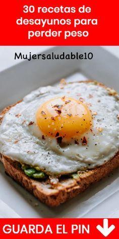 30 Desayunos ligeros para perder peso