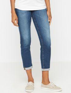 4d737b4a8f660 AG Jeans Stilt Secret Fit Belly Signature Pocket Slim Leg Maternity Crop  Jeans
