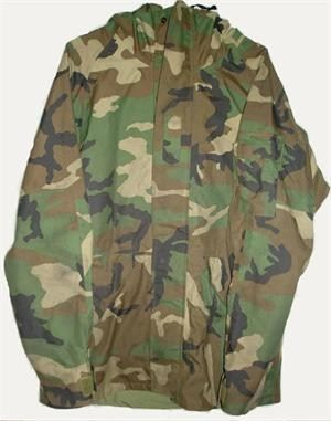 Parka, Cold Weather, Camo Woodland   Official U S A  Military