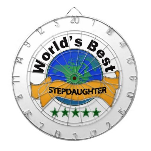 World's Best Stepdaughter Dart Board