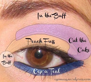 eye makeup tutorial diagram for pastel makeup i love makeup rh pinterest ca