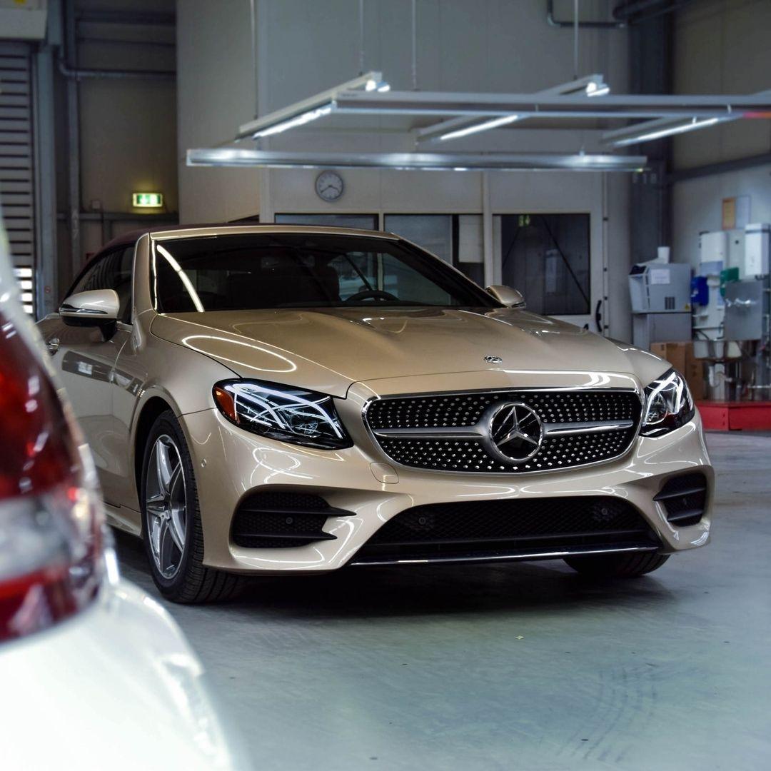 The New Mercedes-Benz E-Class Cabriolet