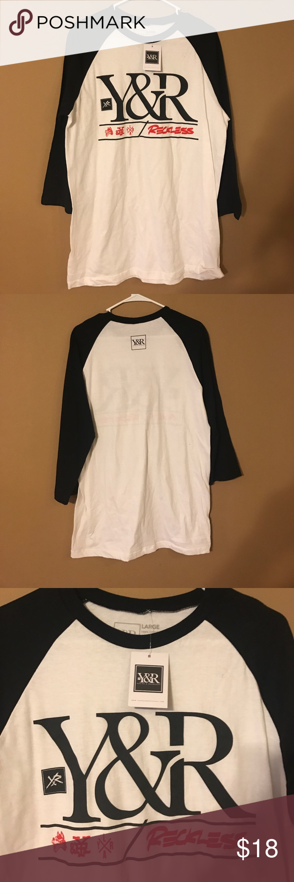 Young & Reckless baseball tee | Reckless shirts, Clothes