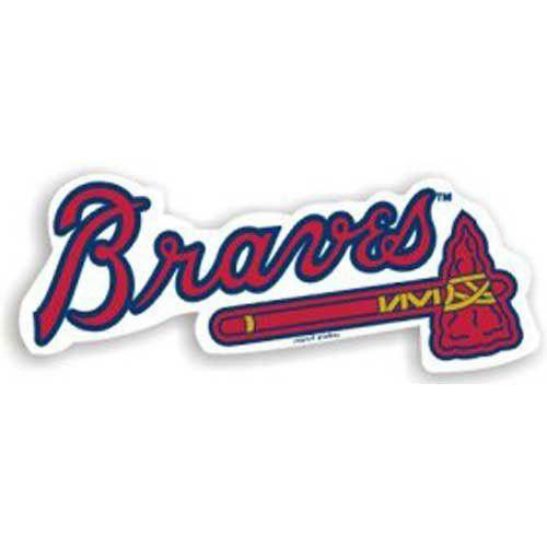 Atlanta Braves MLB 12 Car Magnet
