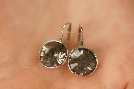Swarovski Crystal Earrings Round Crystal by ASparklingOccasion