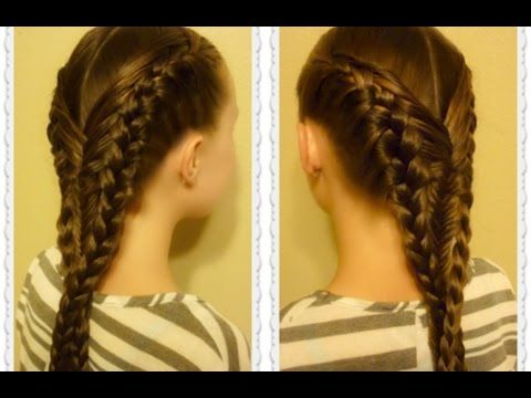 Diving Mermaid Braid Hairstyle Tutorial, Inspired By ...
