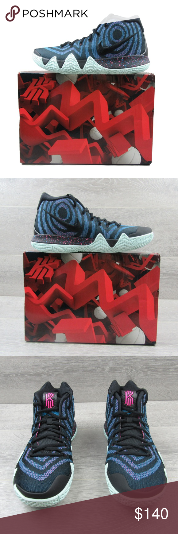 6c84a6e58ef Nike Kyrie 4 Decade Pack 80s Basketball Shoes PRICE FIRM - NO OFFERS Nike  Kyrie 4