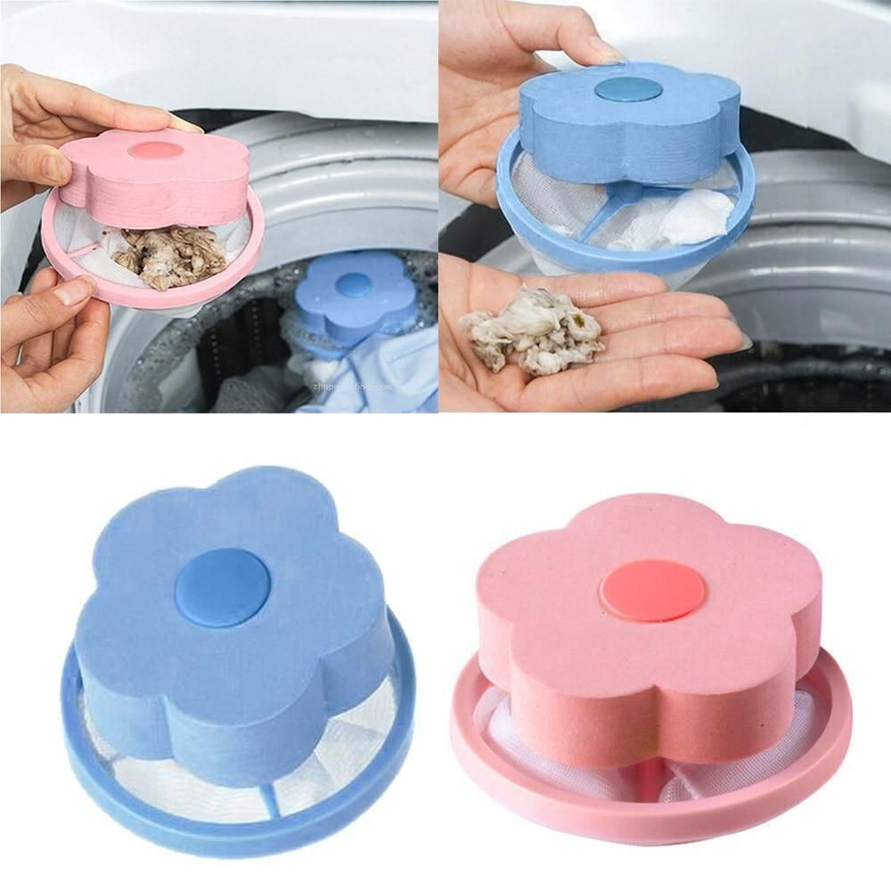 Floating Pet Fur Catcher Onelastmall Washer Laundry Clean