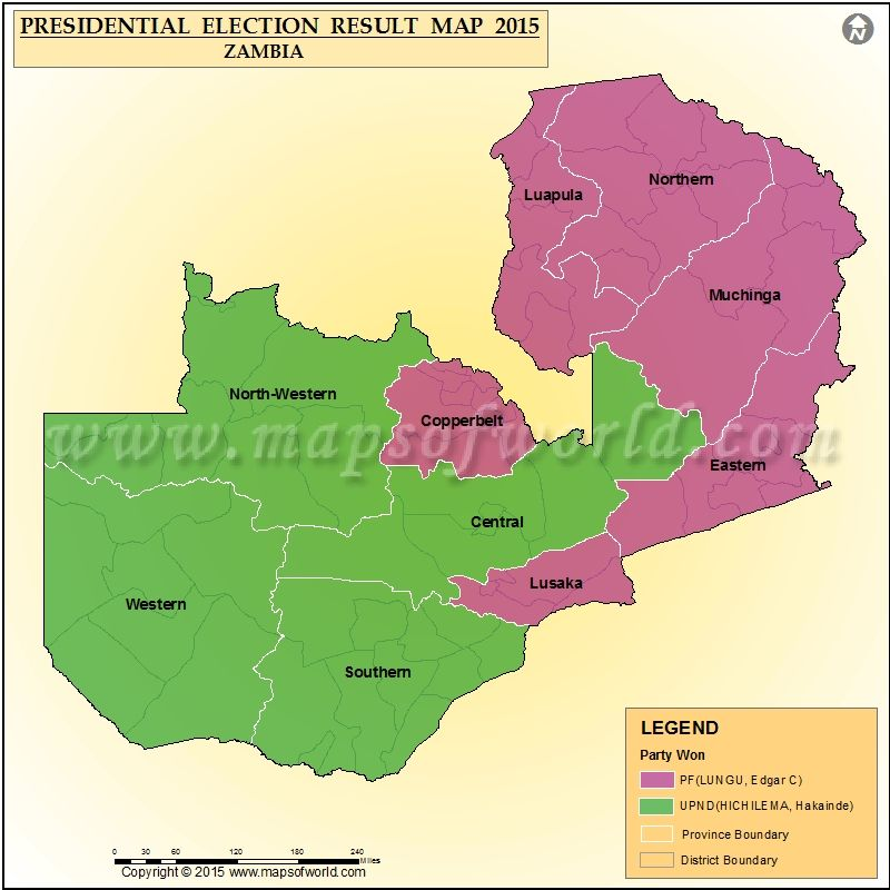 Zambia Presidential Election Results 2015 | Elections 2015