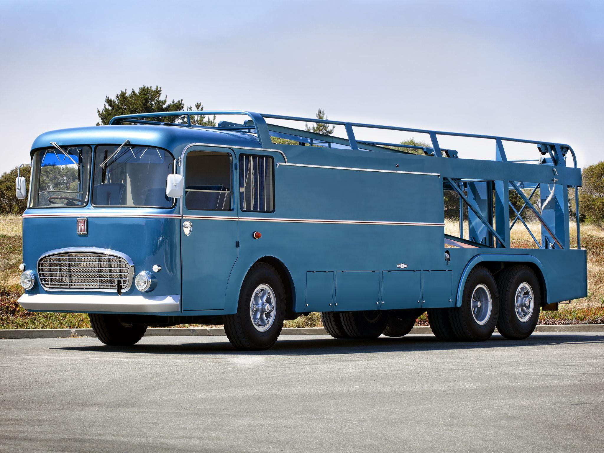 1956 fiat series 306 2 grand prix transporter passione. Black Bedroom Furniture Sets. Home Design Ideas