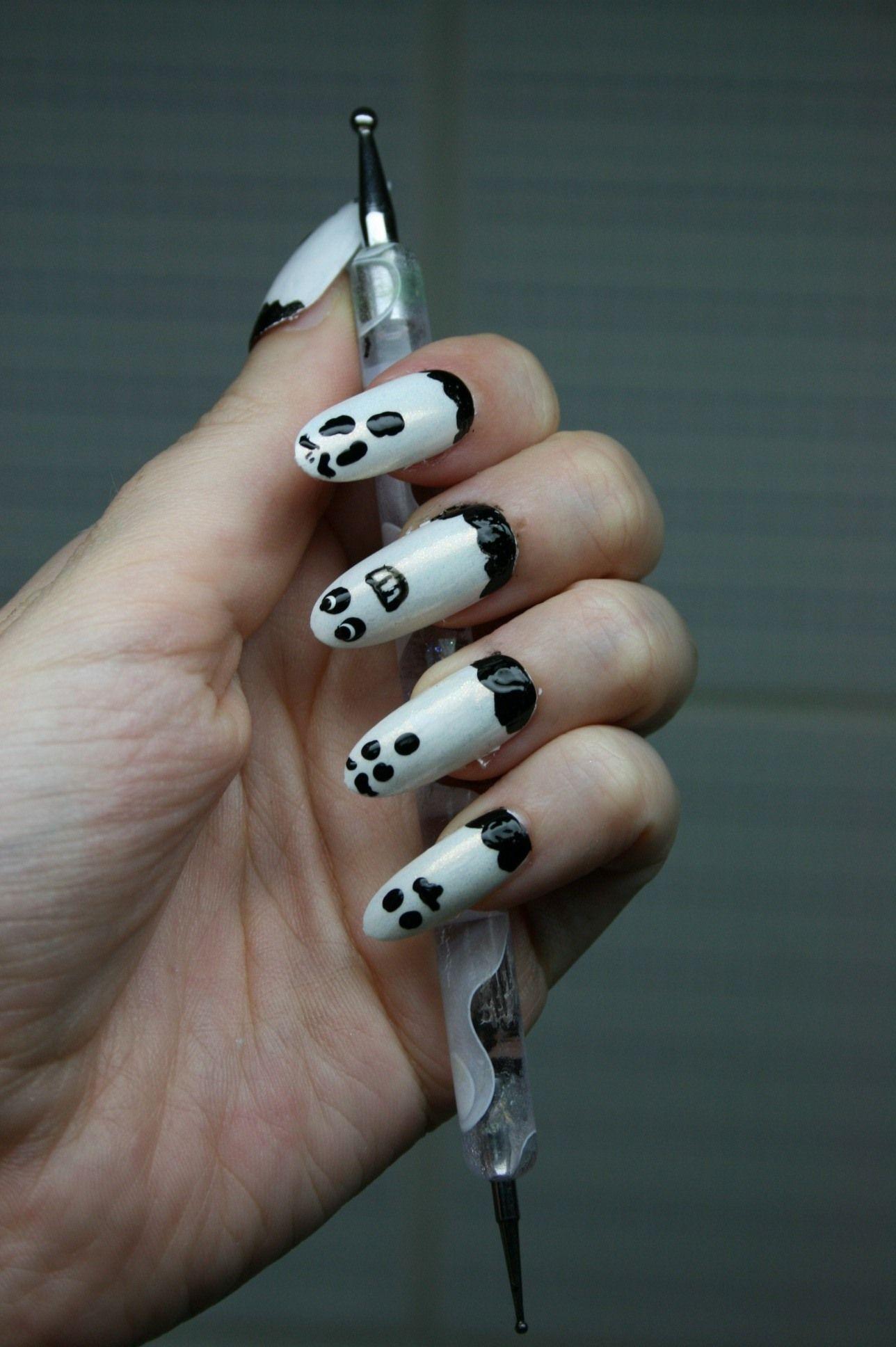 geln gel motive f r halloween 26 ideen zum selbermachen anleitung nageldesign nail art. Black Bedroom Furniture Sets. Home Design Ideas