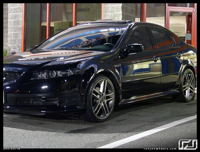 Acura TL With Black Rims Find The Classic Rims Of Your Dreams - Acura tl black rims
