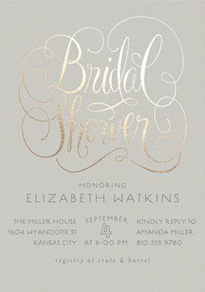 23 Bridal Shower Invitation Ideas That