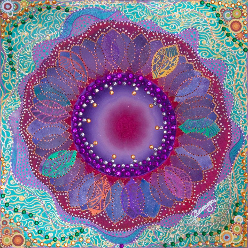 SEED OF UNITY  Oh what a beautiful tapestry we make when joining our energies, each unique aspect bringing it's own special gift, creating something new and beautiful through divine union, shining forth in a most powerful oneness..  (La Folie by Blossomger)
