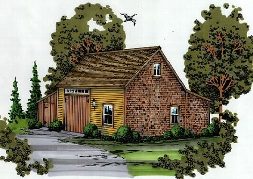 Barn shop already own the plans could be modified as a Barn guest house plans