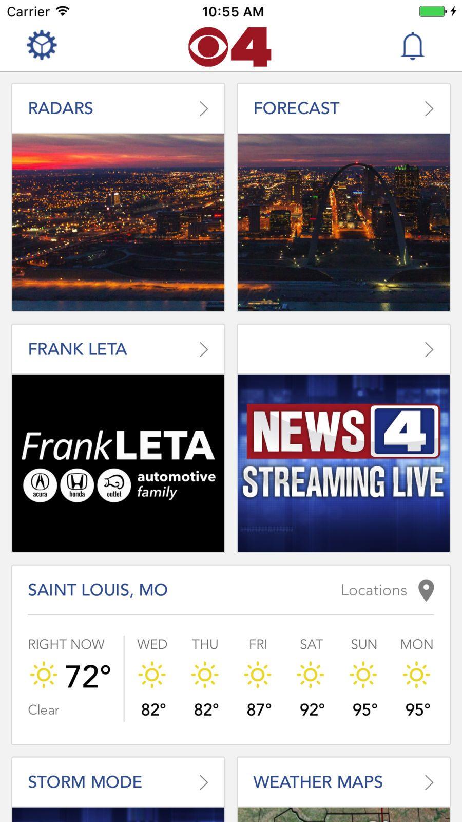 KMOV Weather St. Louis NewsTVappsios Weather