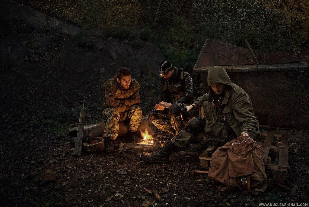 Campfire By Nuclearsnailstudios On Deviantart Apocalipsis Fin Del Mundo Historia