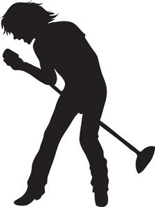 The Silhouette Of A Male Singer 0071 0907 1417 0342 Smu Jpg 224 300 Silhouette Singer Human Silhouette