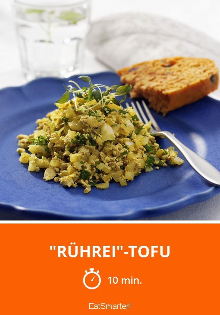 """Rührei""-Tofu - smarter - Zeit: 10 Min. | eatsmarter.de"