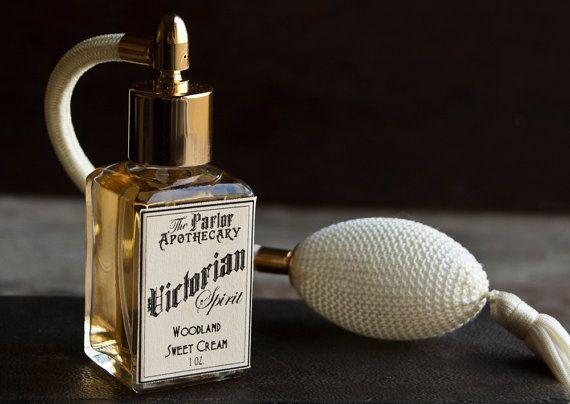Victorian Spirit - Vanilla Amber Perfume - Woodland Sweet Creme - Atomizer Bottle -1 oz on Etsy, $38.00