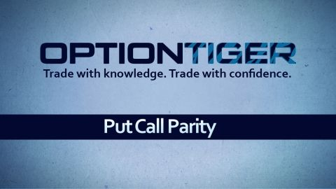 Free course on Put Call Parity, a unique relationship between the prices of Call options and Put options that must always exist at all times. Enroll in course for free: http://optiontiger.com/course/put-call-parity/