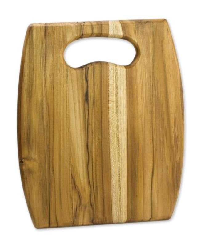 Barrel Wood Cutting Board Kitchen Accessory