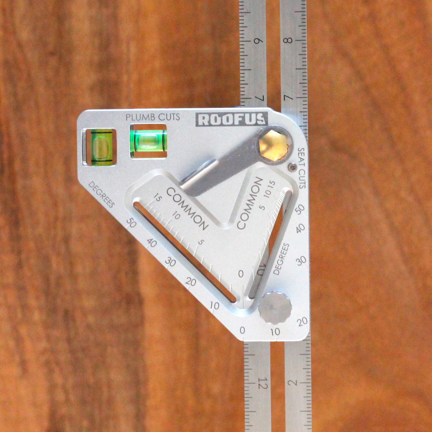 Roofus Pro Imperial Inches Us Speed Square Tool Board Protractor