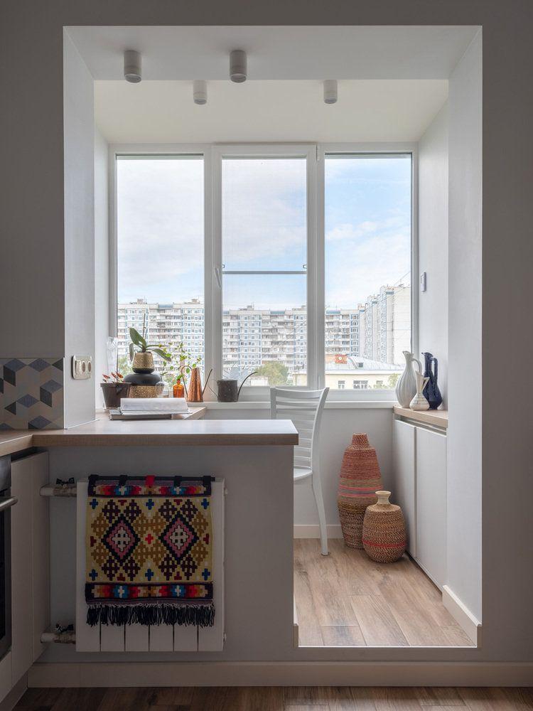 Фотографии - Кухня и столовая в стиле Скандинавский ...