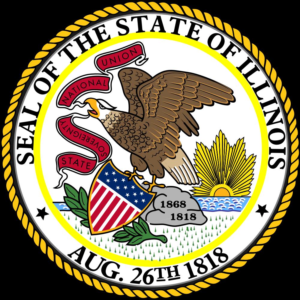The great seal of illinois usa pinterest seal of illinois list of illinois state symbols wikipedia the free encyclopedia biocorpaavc Choice Image