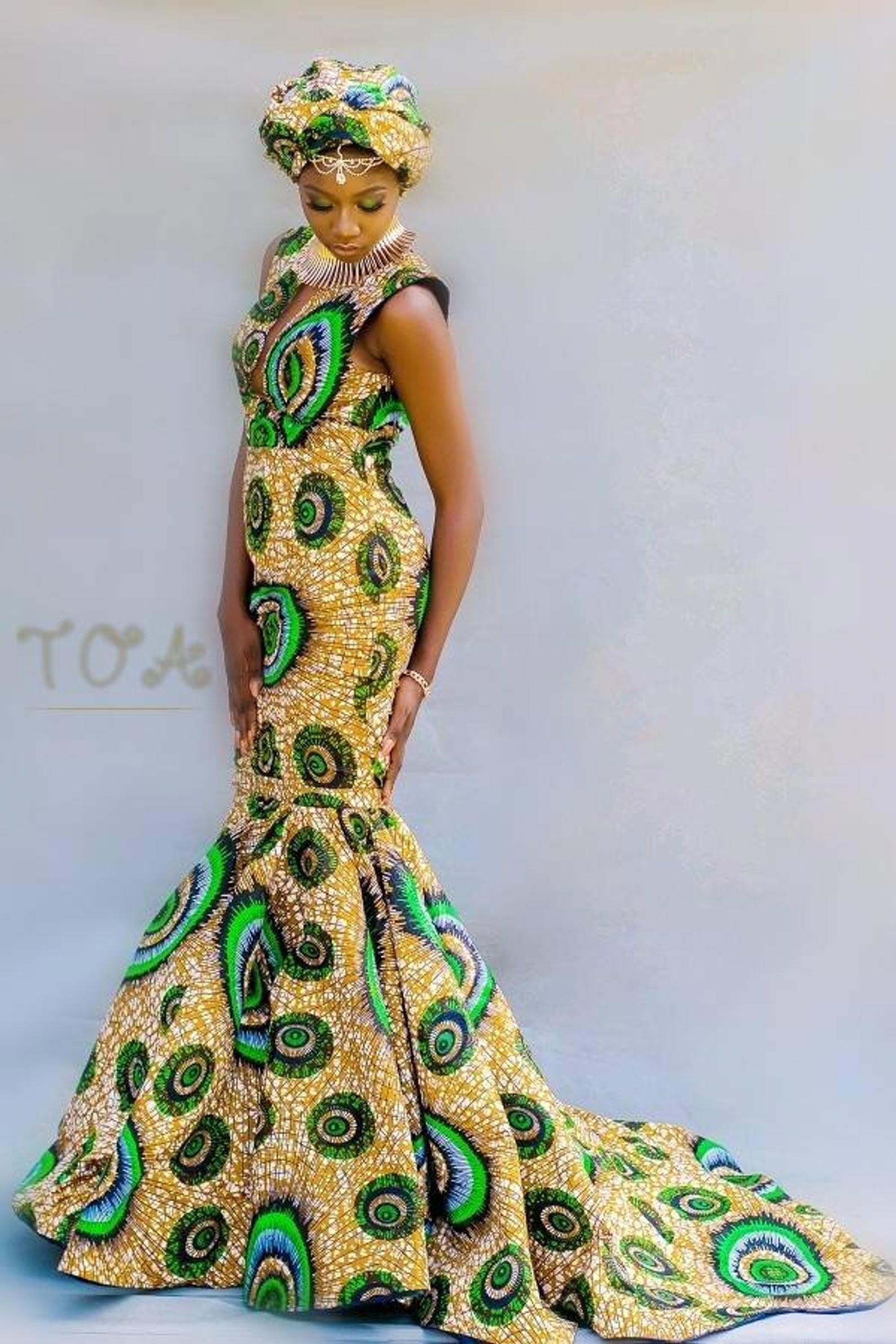 Dashki Fabric African Fashion Ankara Kitenge African: PROM 2020 African Print Dresses, Ankara Dresses For Prom