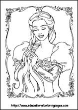 Barbie Princess Coloring Pages Disney And Other Favorite