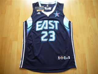 buy popular 1fd73 892be 2009 NBA All Star East 23 LeBron James Blue Jerseys ...
