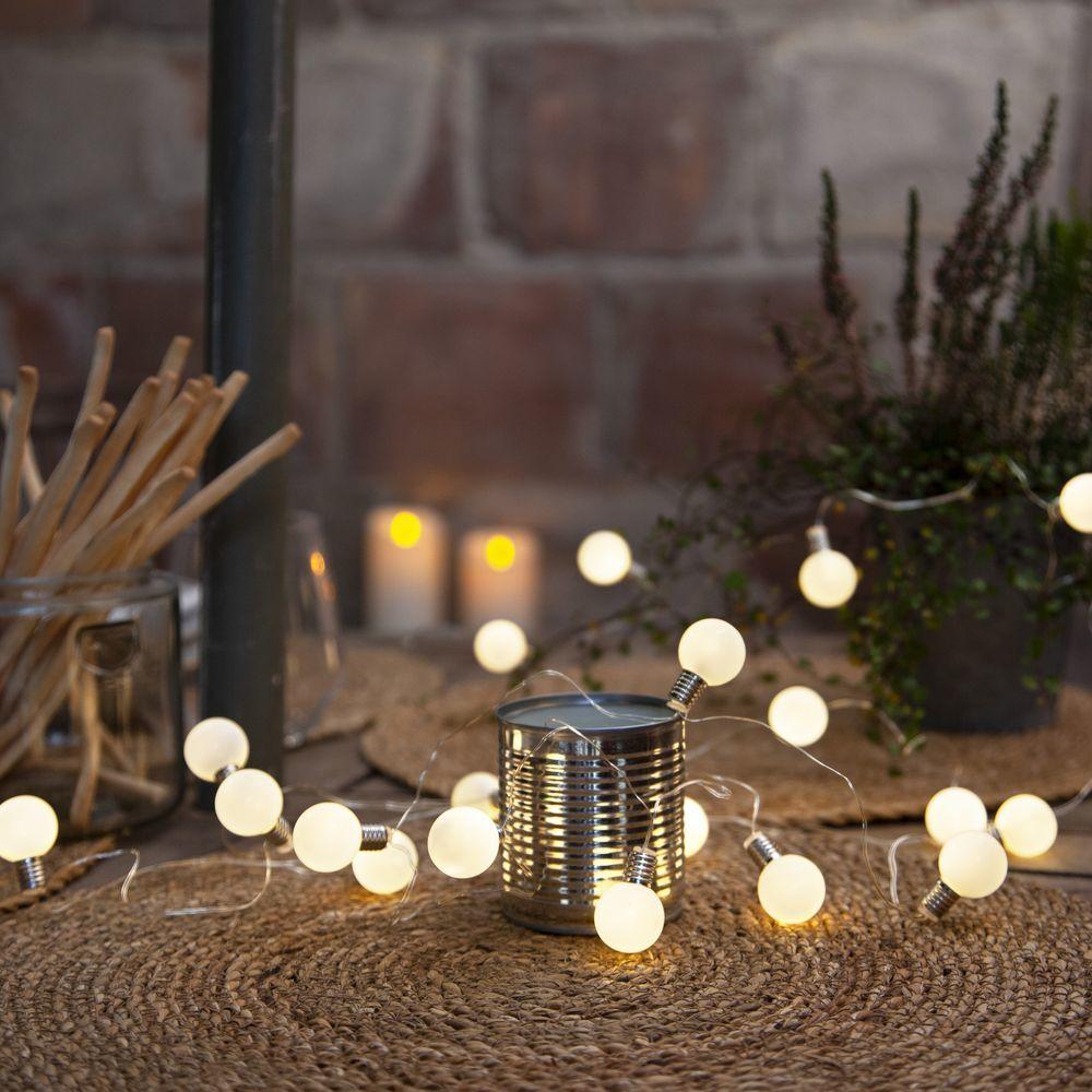 Led Lichterkette Mini Glow In Weiss Opal Weihnachtsdeko Weihnachten Christmas Advent Weihnachtsbeleuchtung Led Lichterkette Lampen Und Leuchten