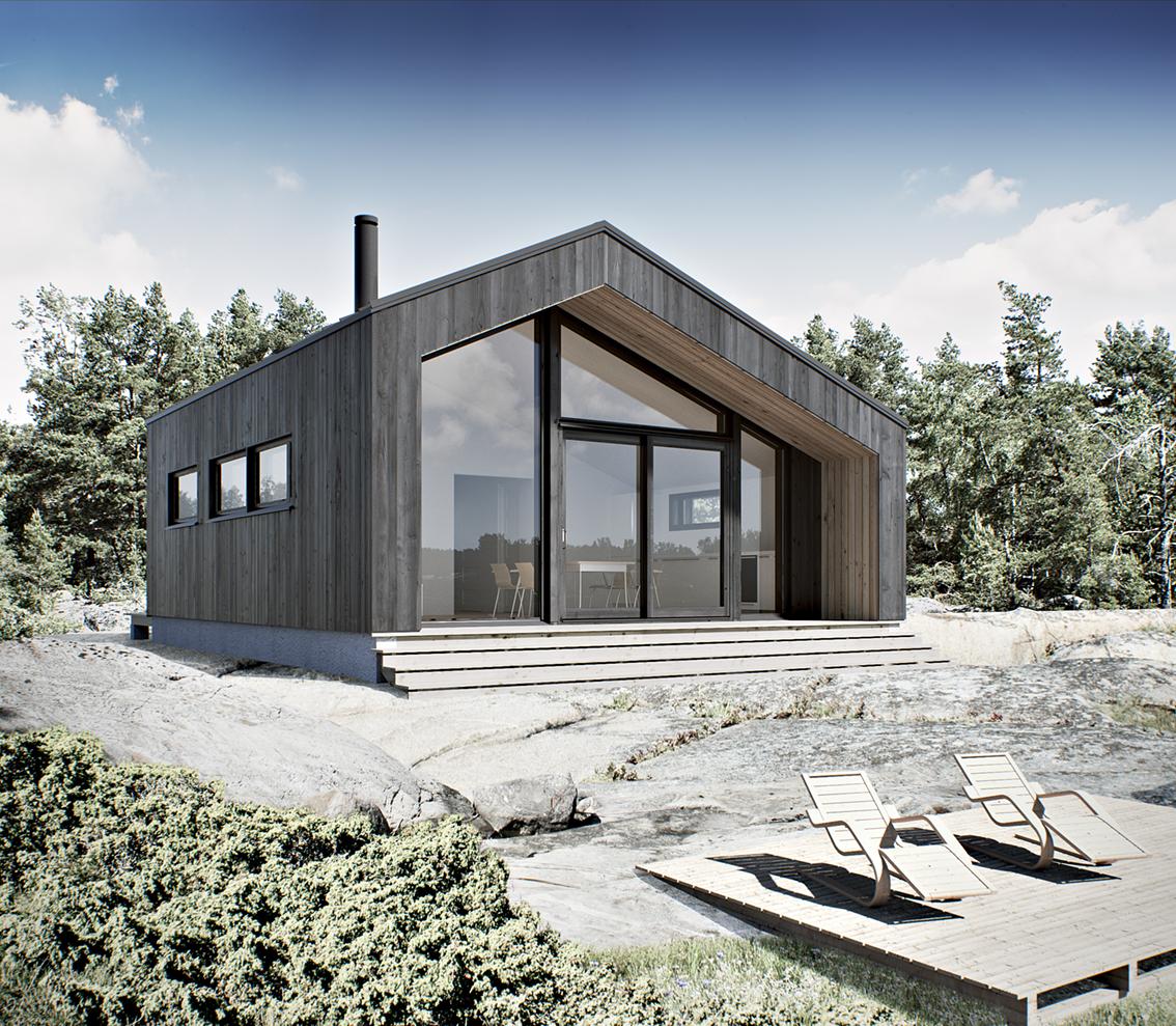 wooden house WM 56