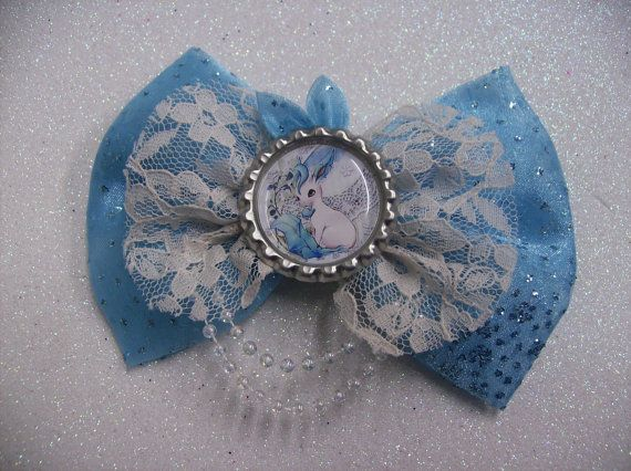 Pokemon Inspired Hair bow Lolita style bow by FancifulFrillies, $7.00