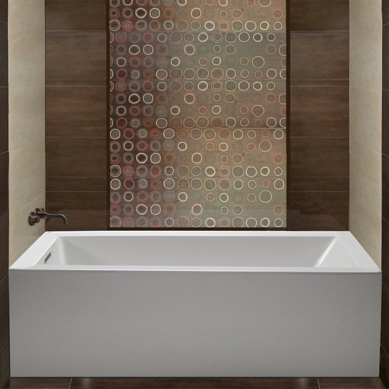 Cameron shown installed bath selections pinterest for Soaker tub definition