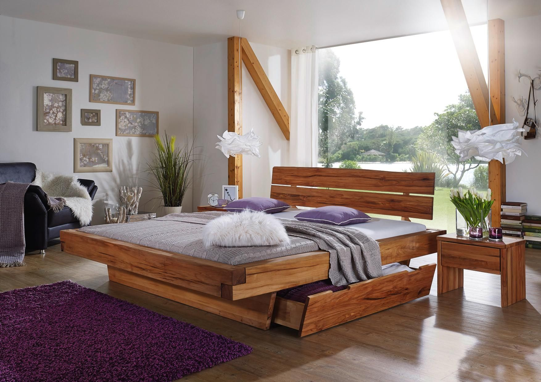 Schlafzimmer Monaco ~ Massivholz schlafzimmermöbel set monte carlo tlg jetzt bestellen