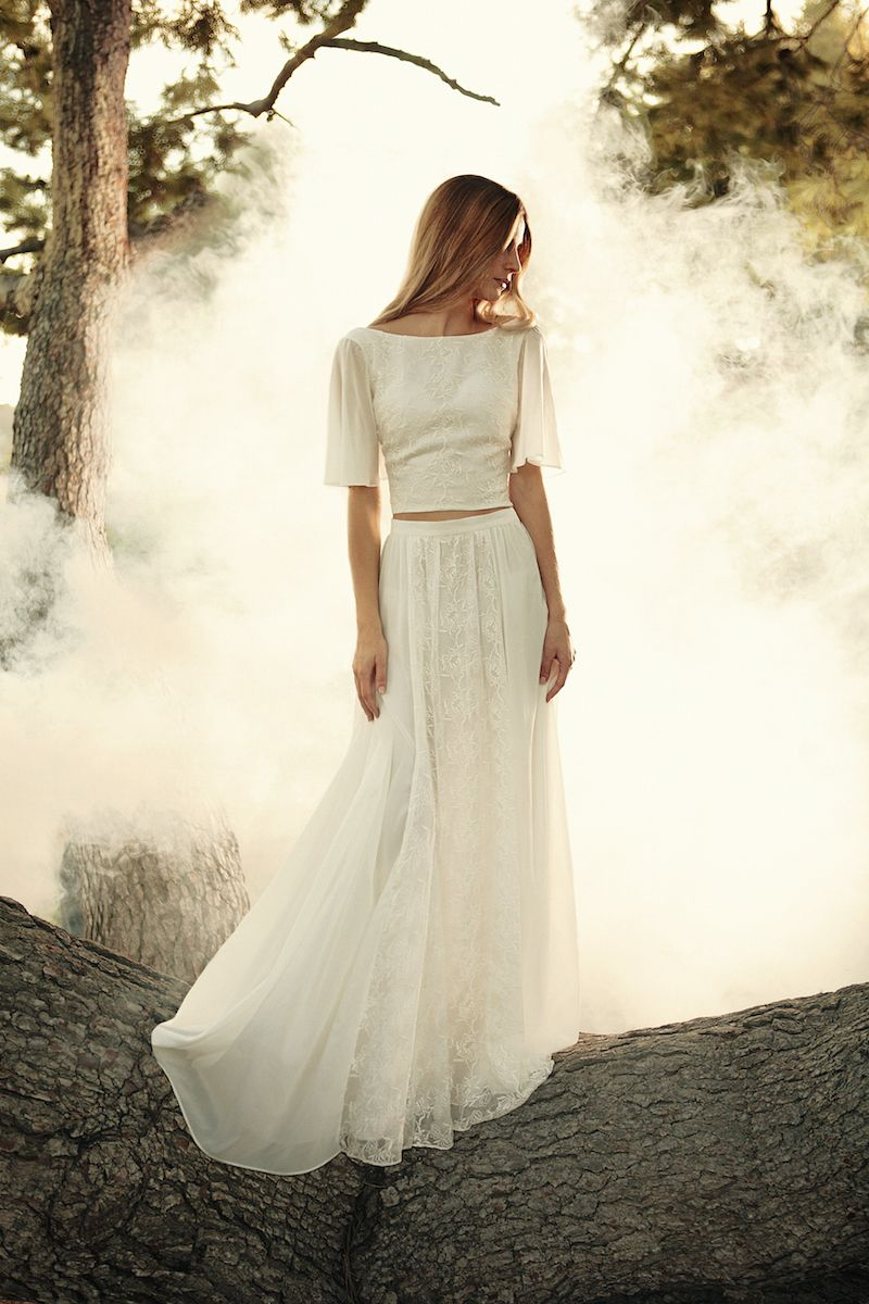 Unique style wedding dresses  The must see Eternal Romance Bridal Collection by Dreamers and