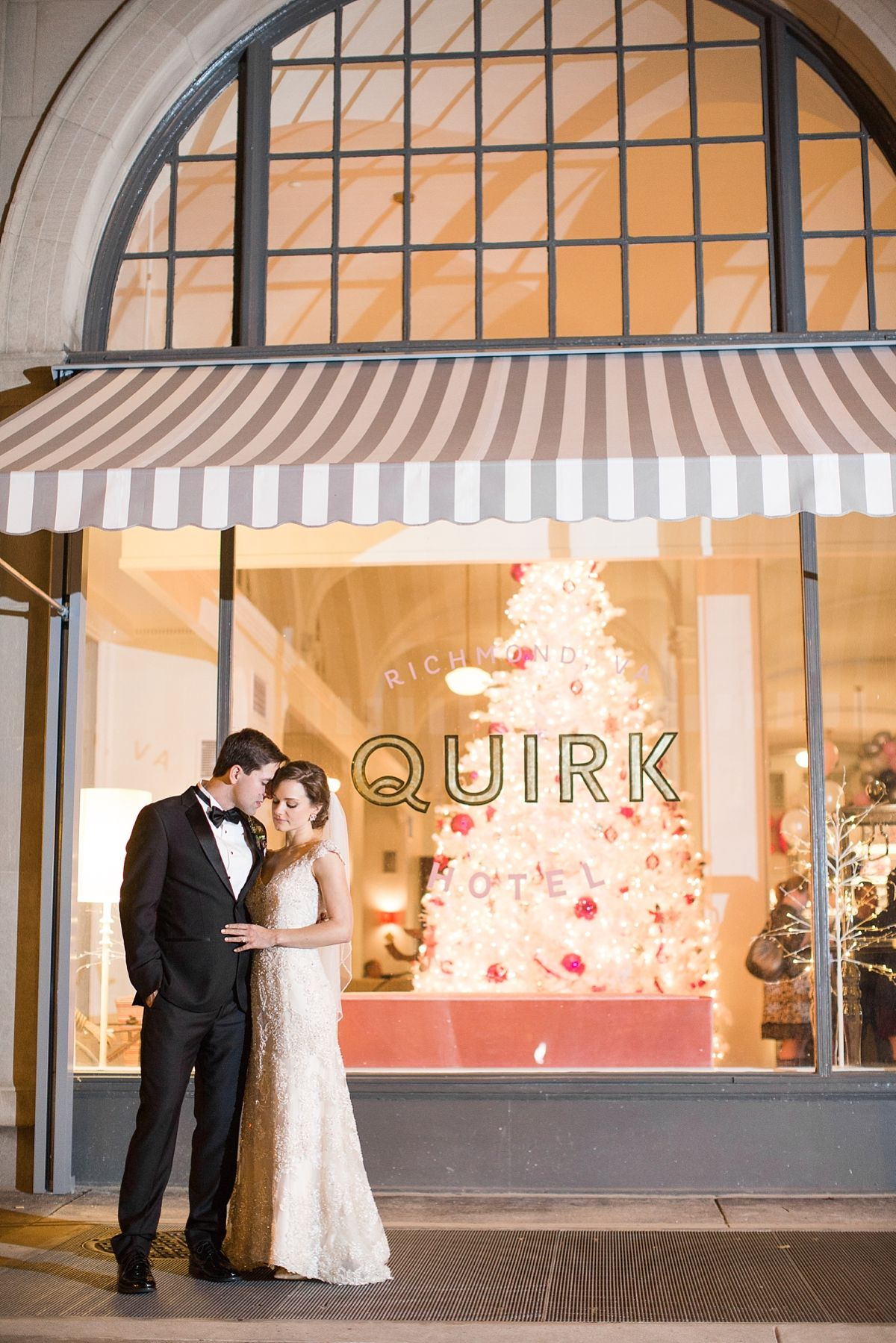 New Year's Eve Wedding at Quirk Hotel in Downtown Richmond ...