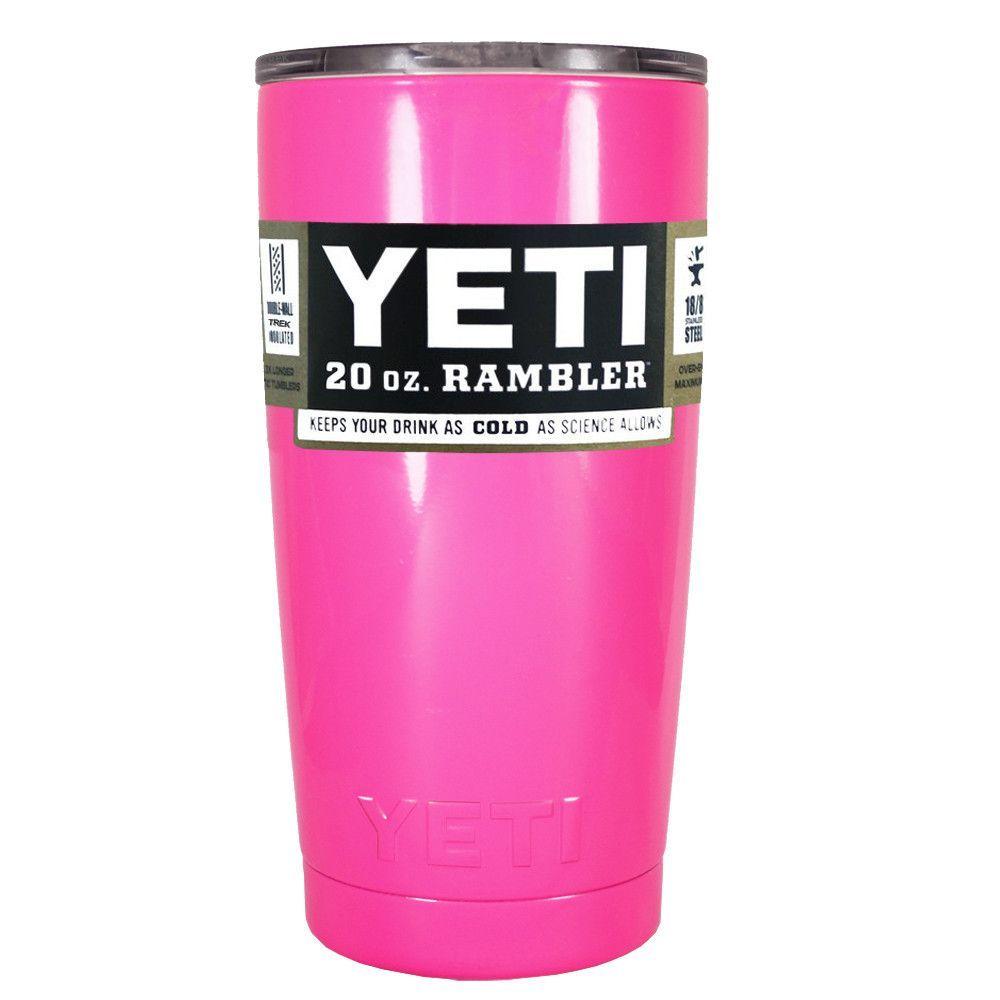 db0be82c583 YETI Hot Pink Gloss 20 oz Rambler Tumbler | Products I Love | Yeti ...
