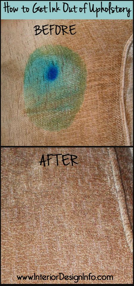 How To Get Ink Out Of Upholstery Cleaning Upholstery Cleaning Car Upholstery Remove Ink From Fabric