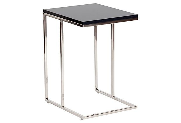 Posta Side Table, Charcoal On OneKingsLane.com
