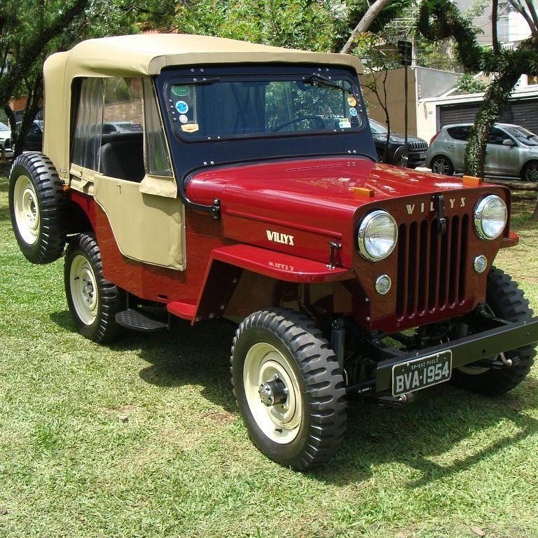 Jeep Willys Cj3b 1954 Cj3b 1954 Willys Jeep Custom Jeep