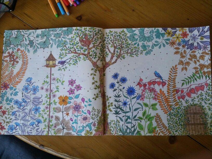 Geheime tuin...kleurboek voor volwassenen