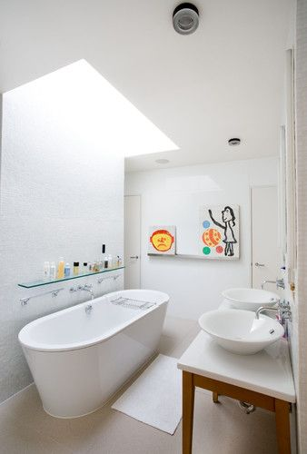 Skylight The Solution To Our Window Less Bathroom Problem I