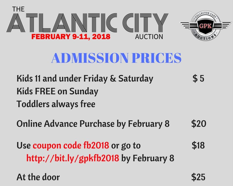 Pin On 2018 Atlantic City Auction Car Show