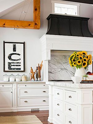 Kitchen Decorating Ideas Artworks, Home and Better homes and gardens
