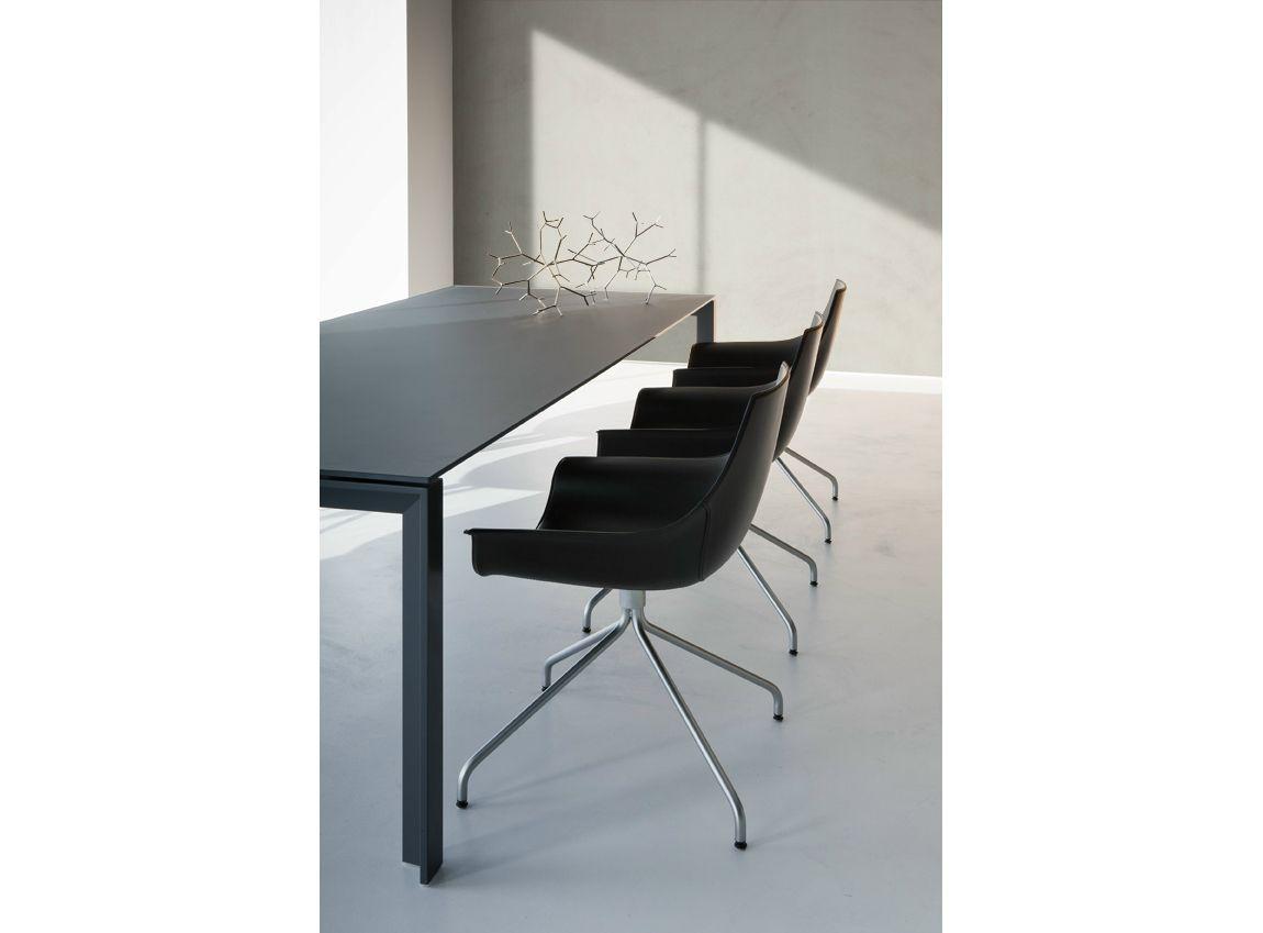 Tavolo Fenix ~ Kataba table by peli. made of fenix ntm. nero ingo. decorate