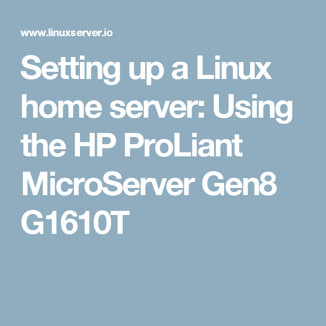 XPEnology NAS • View topic - HP ProLiant MicroServer Gen8 fan issue